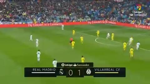 🔙 RESUMEN HISTÓRICO 📽 @realmadrid 0-1 @VillarrealCF 🗓 Temporada 2017/18 🔝💛🔝 ¡Recordamos la primera y única victoria del Villarreal CF en el Bernabéu en #LaLigaHistory! #QuédateEnCasa #EsteVirusLoParamosUnidos #LaLigaSantander