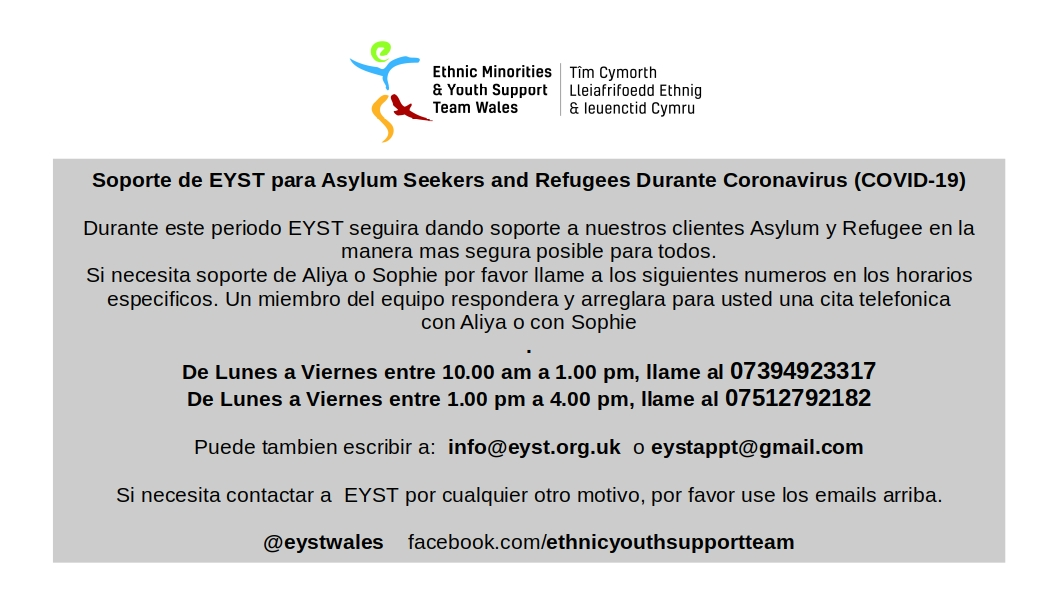 @eystwales Support info Spanish!