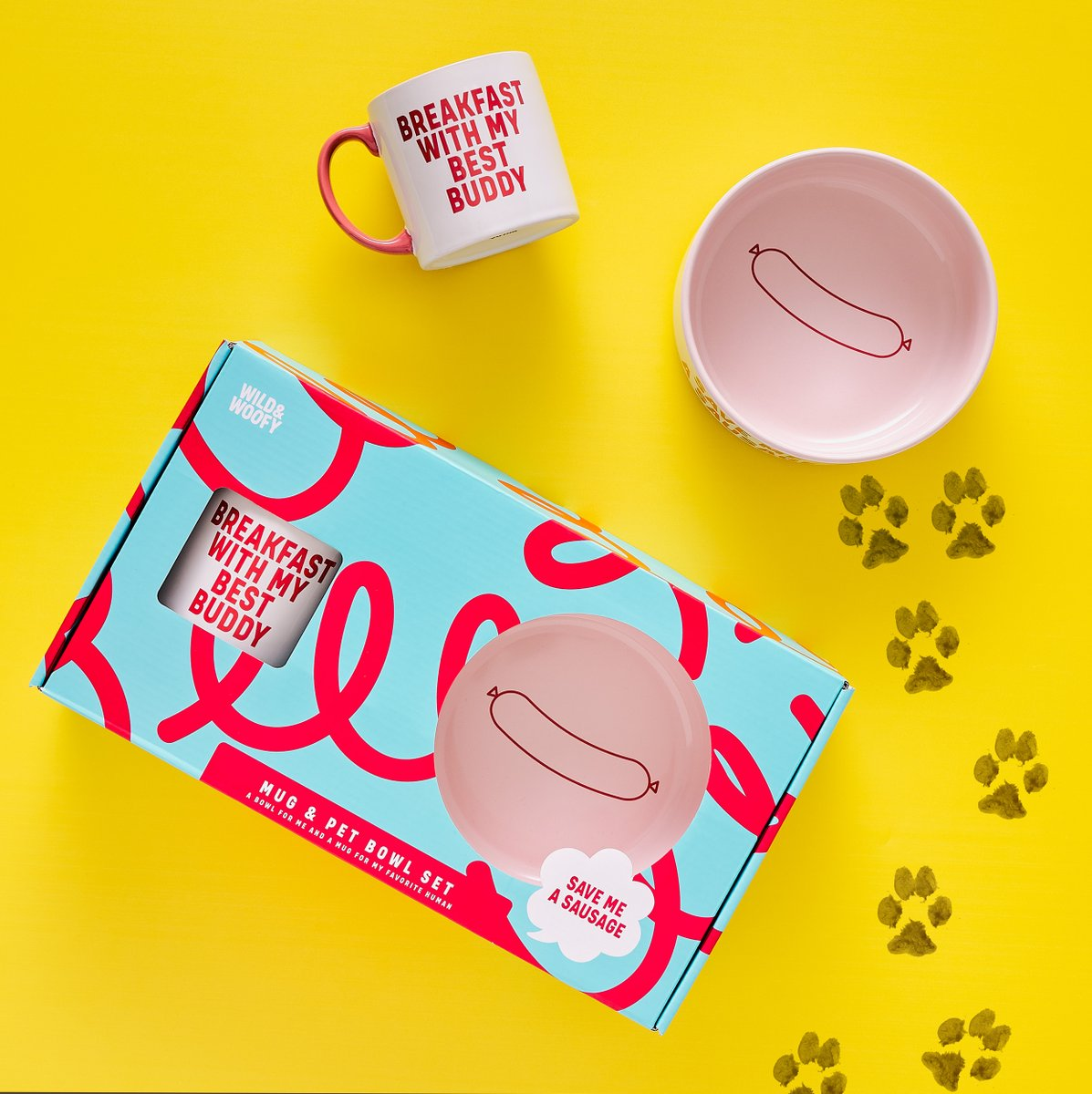 Hanging out with your pooch today? Make sure they never feel left out with our Dog Mug and Bowl Set from @wildandwoofy : https://bit.ly/2QHV1VW  : https://jland.partners/3dBox9Mpic.twitter.com/Yze6DG3nPM