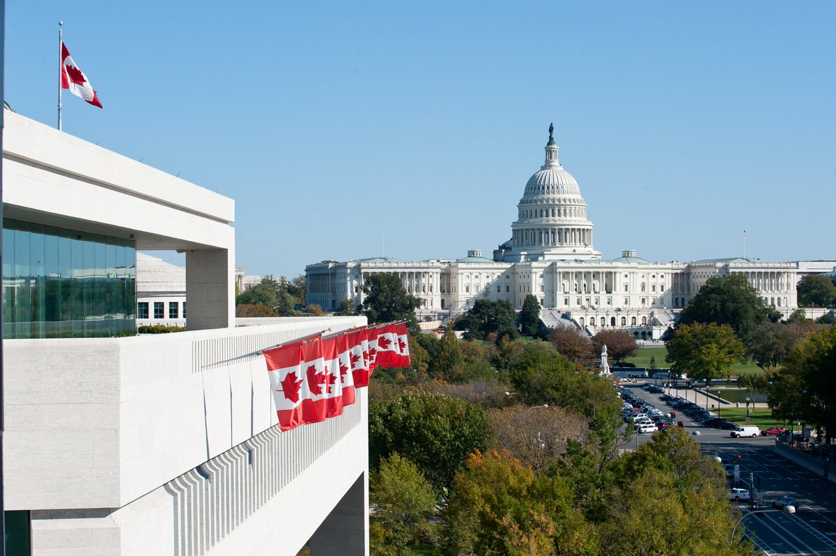 Honoured to be named Canada's Ambassador to the United States by Prime Minister Trudeau. Thrilled to be able to continue to work with such an extraordinary and dedicated group at @CanEmbUSA as we advance and deepen the #CanadaUS relationship. 🇨🇦🇺🇸https://bit.ly/2QHmBCL