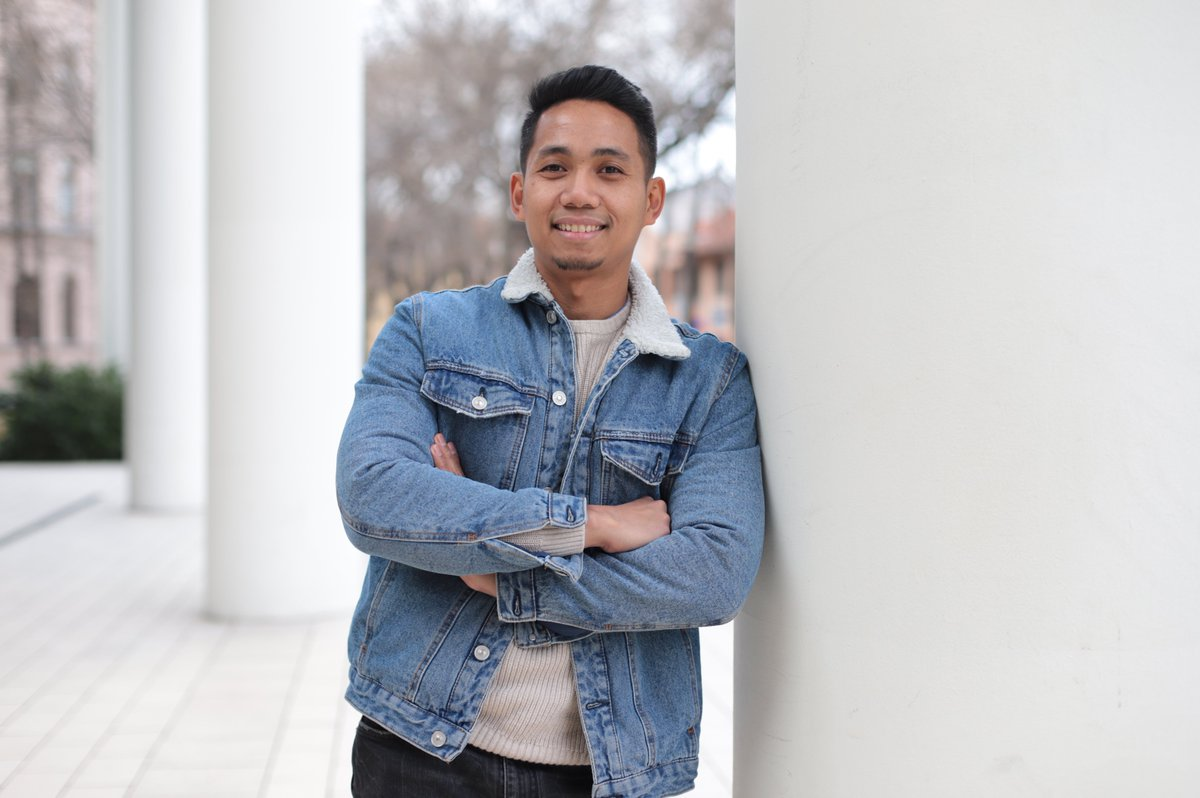 """Meet Ahmad 🇮🇩  """"I am Ahmad Adha from Indonesia and currently a 3rd year student in Theoretical Linguistics PhD program.""""  #SZTEFaces #UniversityofSzeged #SZTEinternational #StudyinSzeged #Hungary #SZTE  Photo Creadit: Bobkó Anna 📷"""
