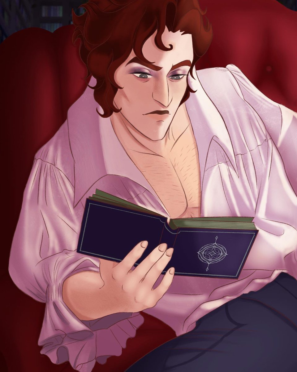 """""""I need to study these magic books- they have the answers I need...they must have it!""""@thearcanagame  #thearcanagame #thearcanajulian #doctordevorak #ilyadevorak #julianthearcana #julianthedoctor #juliandevorakfanart #thearcanaprologue #art #thearcanafandom pic.twitter.com/DpBWRtfetW"""