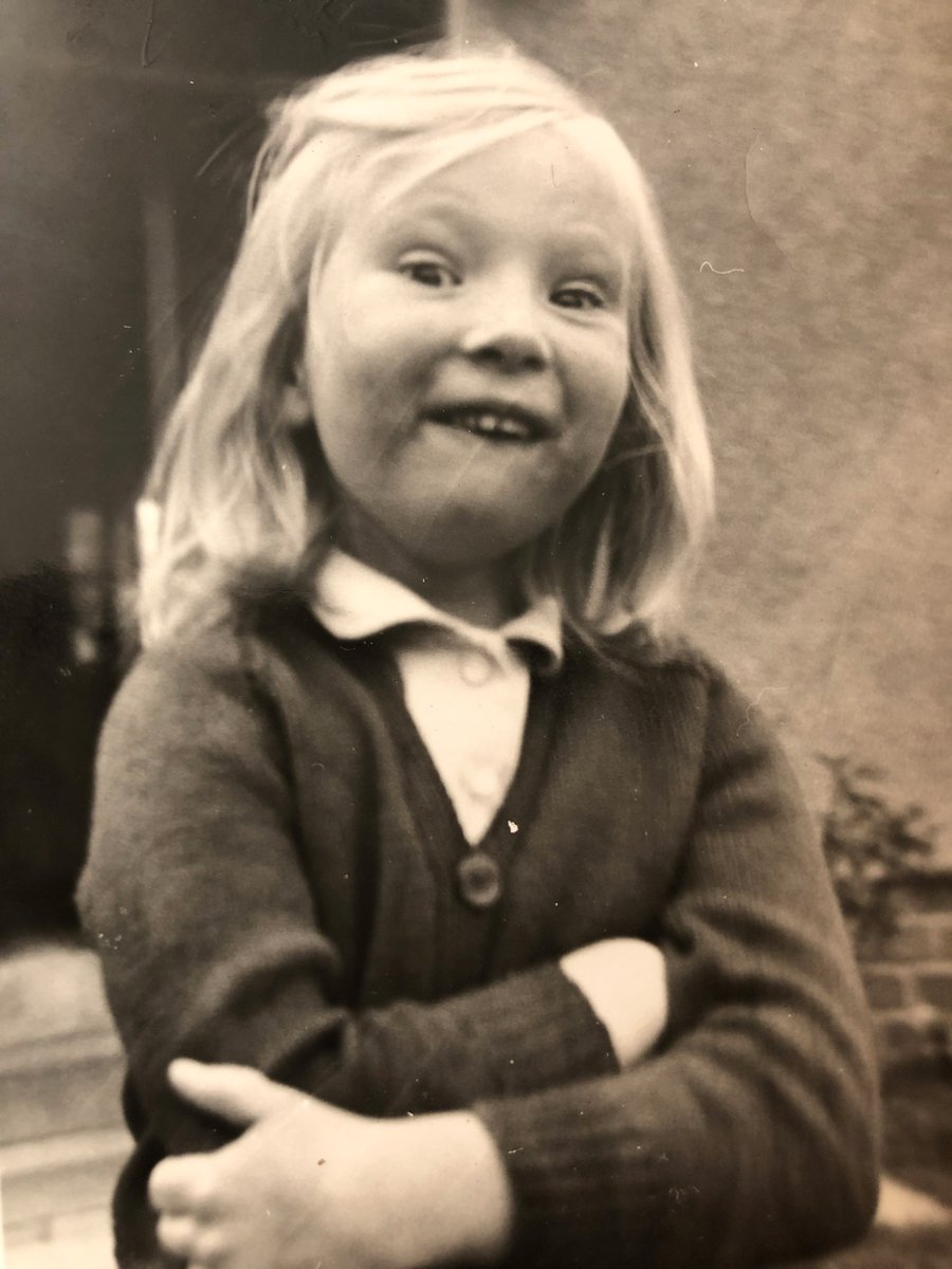 #comedians_as_kids- Id say aged five