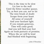 Image for the Tweet beginning: We love this beautiful poem