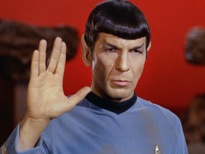 May you live long and prosper.  Happy Birthday Mr. Spock (Leonard Nimoy)!