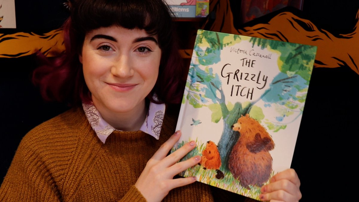 Next up, we're reading ' The Grizzly Itch' by @VickyCassanell ! 🐻 youtu.be/OQ0aGXS6dxs 🐻