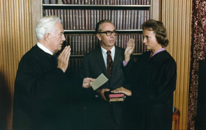 Happy 90th Birthday to former Supreme Court Justice Sandra Day O\Connor