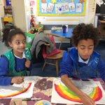 Image for the Tweet beginning: Today the children in school