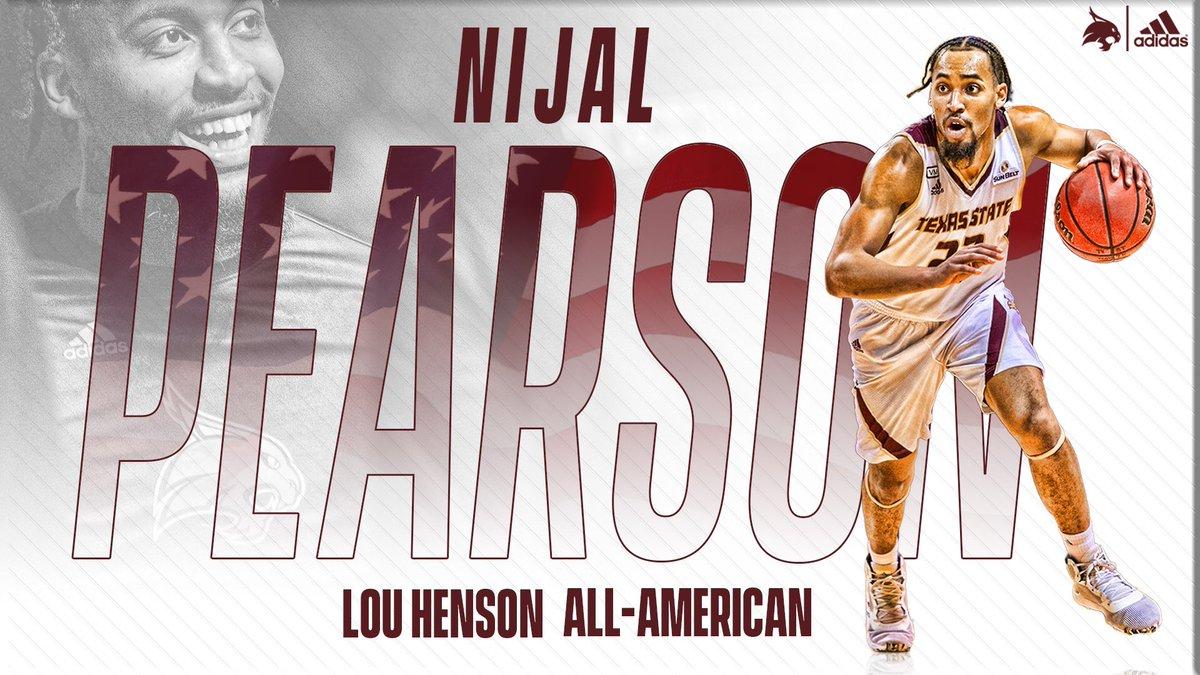@NijalUno becomes the first All-American in 41 years after being named to the Lou Henson All-America Team! #EatEmUp😼