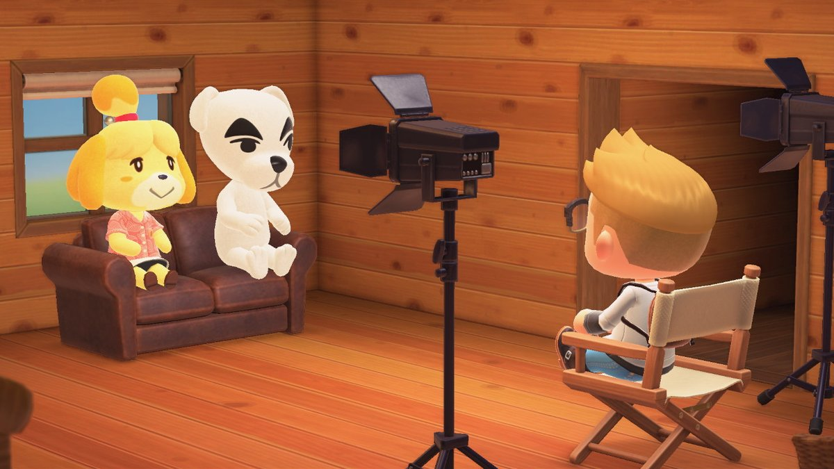 'So, you're both dogs...' #AnimalCrossing