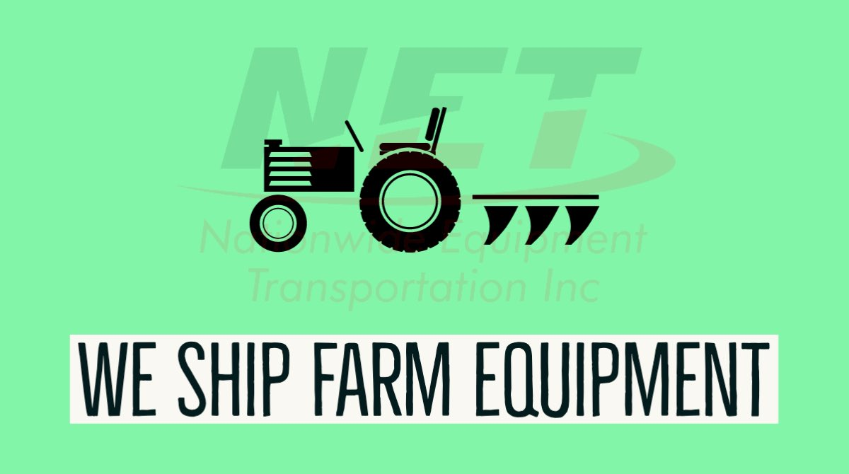 Bought a new tractor at an auction? No way to get it home? We've got you covered! Download our NETQUOTE app for a free quote, today! #freequote #farmingequipment #tractor #equipment #freight #shipping #transport #shipment #trucking #transportation #supplychainpic.twitter.com/LzHueKoSL6