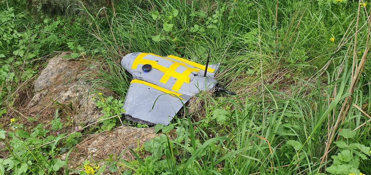 #IDF said it shot down a #Hezbollah drone which was flown into #Israeli territory from south #Lebanon earlier today