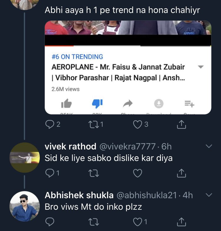 Are these idiots disliking all videos without any reason just so that #BhaluDunga remains trending??? What jealous souls! <br>http://pic.twitter.com/I7d5dj4gkB