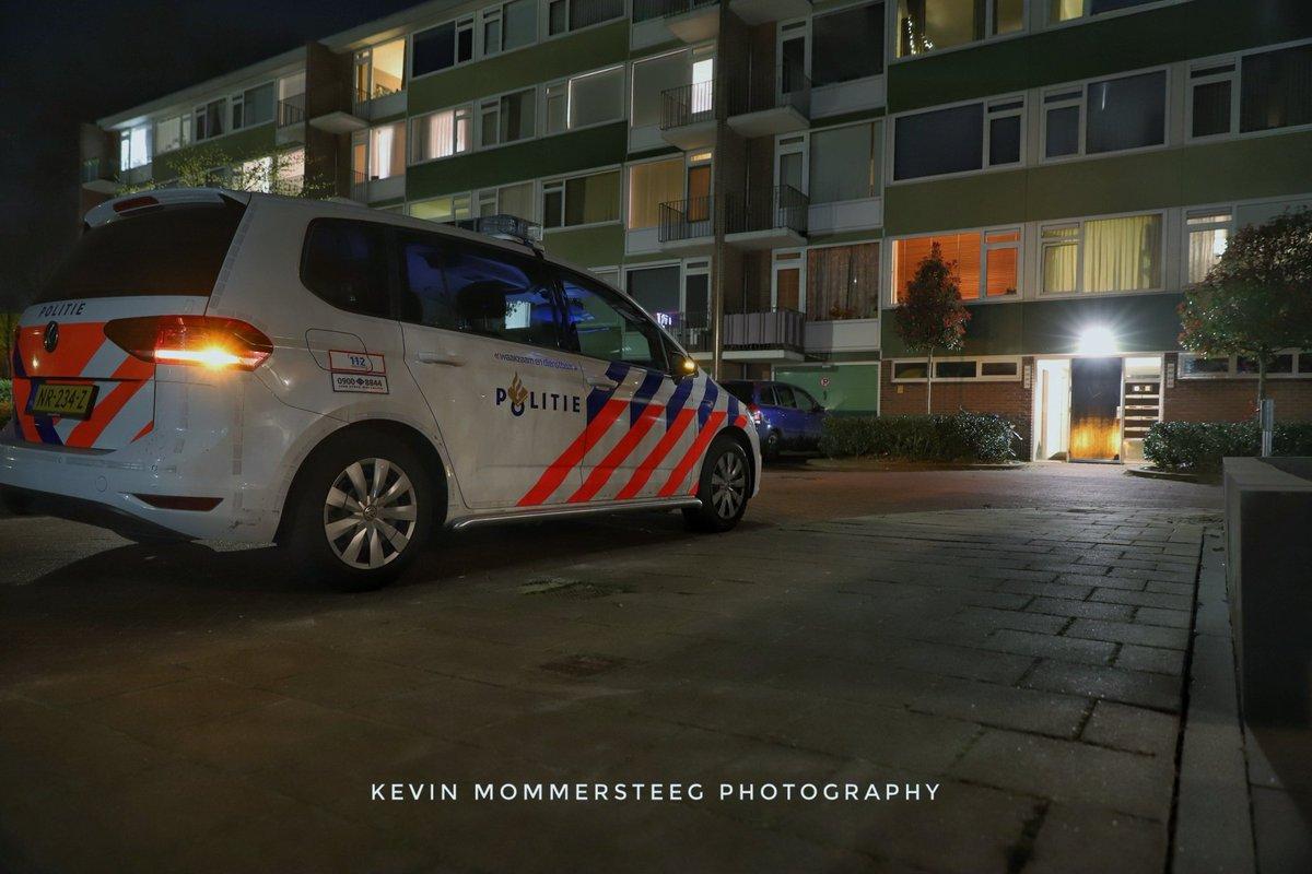 Melding politie Lucas Gasselstraat Rosmalen inzake steekpartij