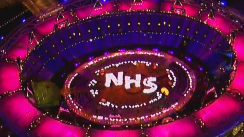 That was amazing. Never felt so much like a community before. Well, not since this #clapforNHS