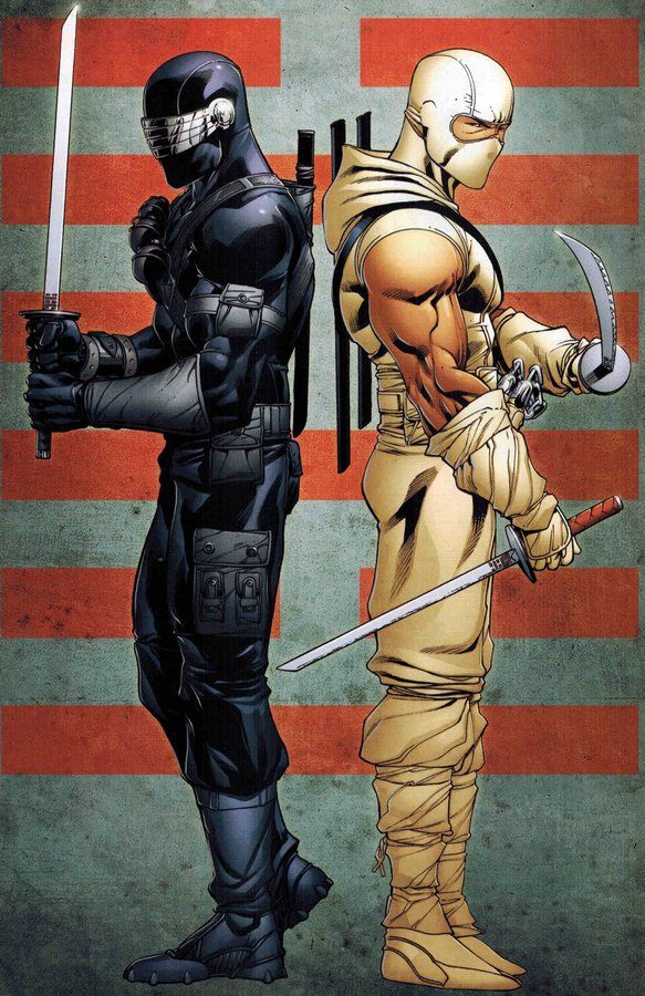 32) This would bring me to part 3 - Show about Snake Eyes, Storm Shadow, Kamakura, Jinx, with NINJA force characters all making appearances. Flashbacks can be shown throughout the series similar to  @CW_Arrowis done. They could be trying to track down Storm Shadow for something,