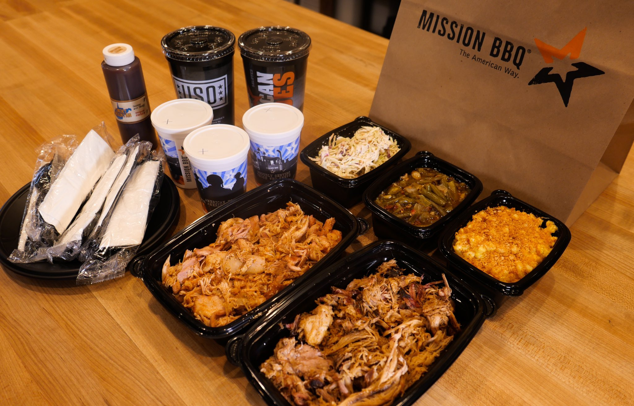 Mission Bbq On Twitter Feed A Family Of 5 Mission Bbq Is Open And Ready To Serve You With Family Pick Up Packs To Go Orders Curbside Contact Free Pickup Plus Free Local