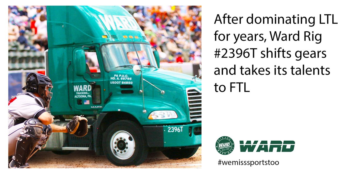 Think of Ward for your FULL TRUCKLOAD needs!  Full truckload, DC shuttles, dedicated, and emergency loads We are available 24/7, nights and weekends  Don't forget about Cross-Dock America for your re-work and storage needs. https://t.co/3hvhk3Wyjg  #wemisssportstoo https://t.co/yh656QjdnY