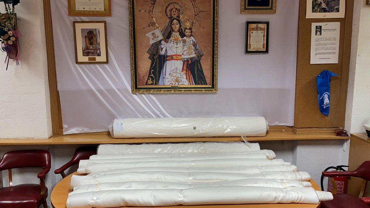Foto cedida por Hermandad Virgen del Rosario