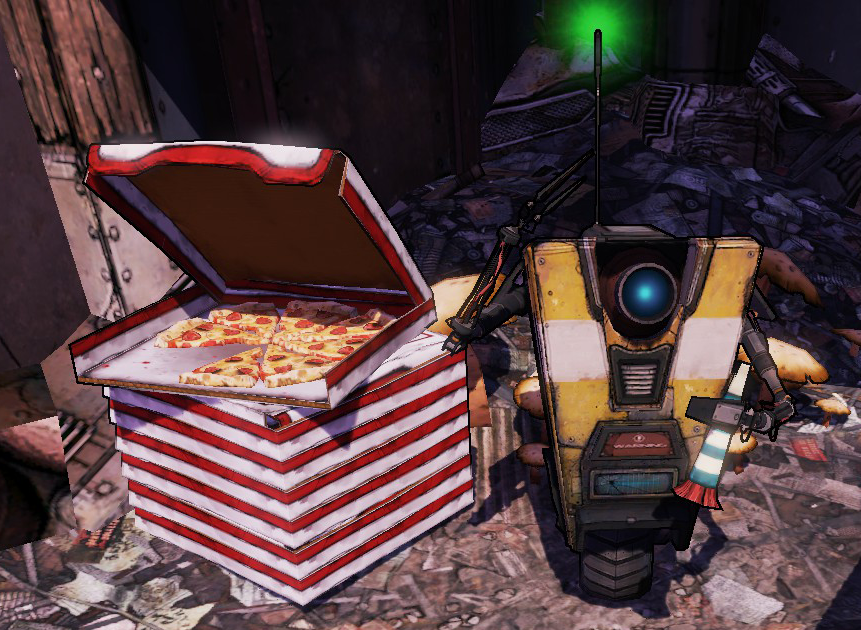 Anyone having their birthday this month now know what it was like for Claptrap 😆