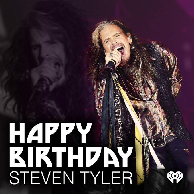 Happy birthday to the Demon Of Screamin\ himself, Steven Tyler!