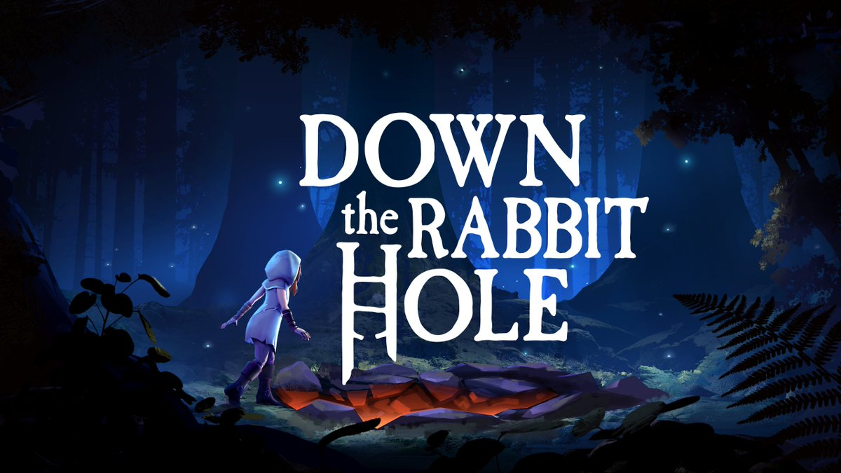 Explore Wonderland in VR with 'Down the Rabbit Hole' from @CortopiaStudios 🐰😺 //