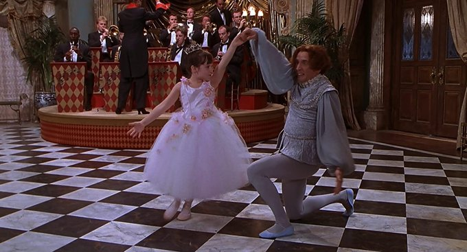 """Happy birthday to Martin Short  Here he is with Mara Wilson in \""""A Simple Wish\"""" from 1997."""
