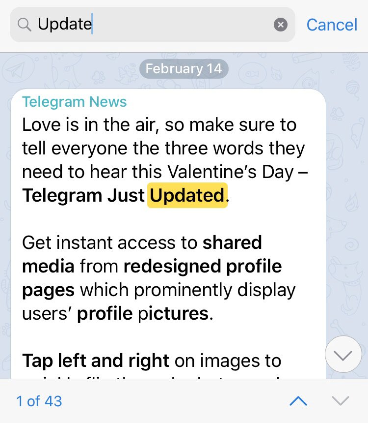 Telegram Messenger On Twitter This One Right Where It First Shows Your Contacts Then Global Search Usernames Then Messages From All Chats Https T Co Ccht8kwrbu