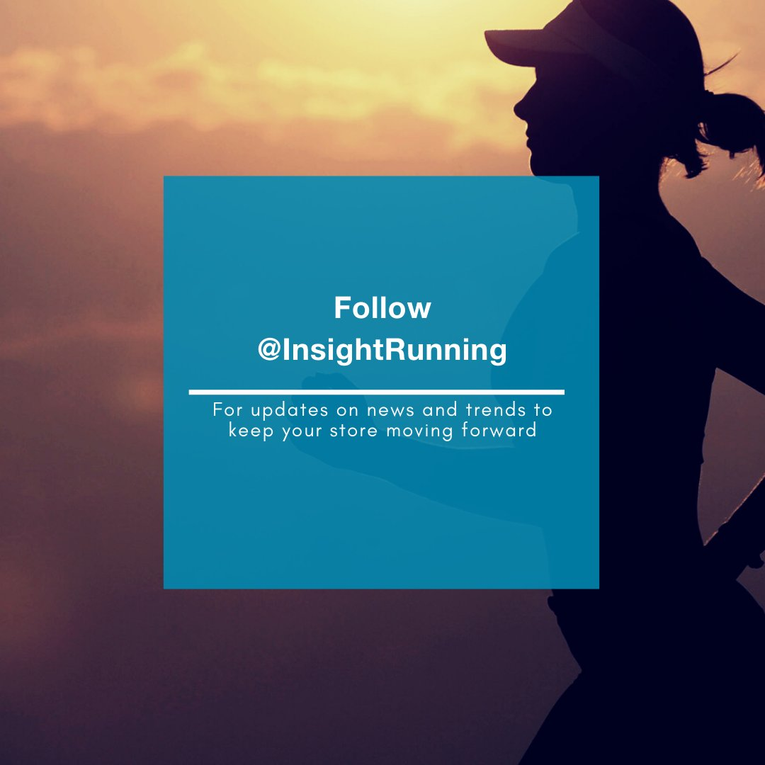 Follow @InsightRunning for updates on news specific to the run specialty industry