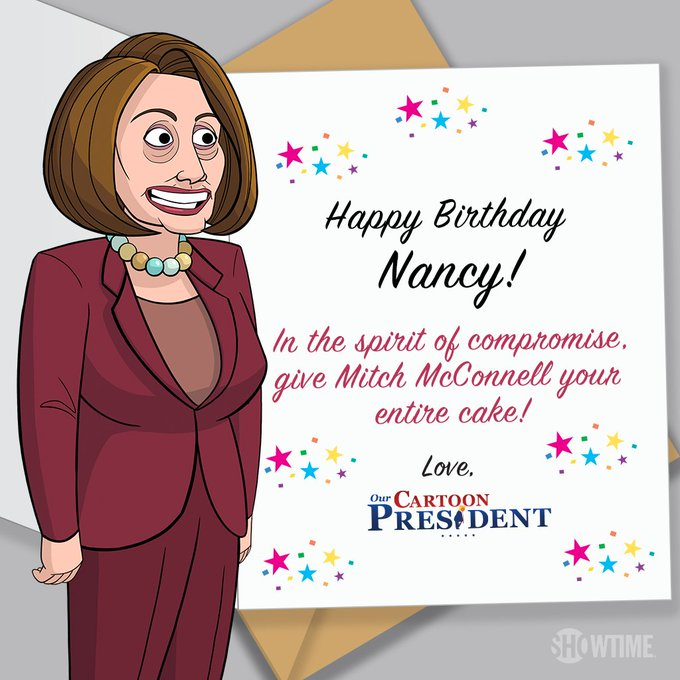 Nancy Pelosi's Birthday Celebration