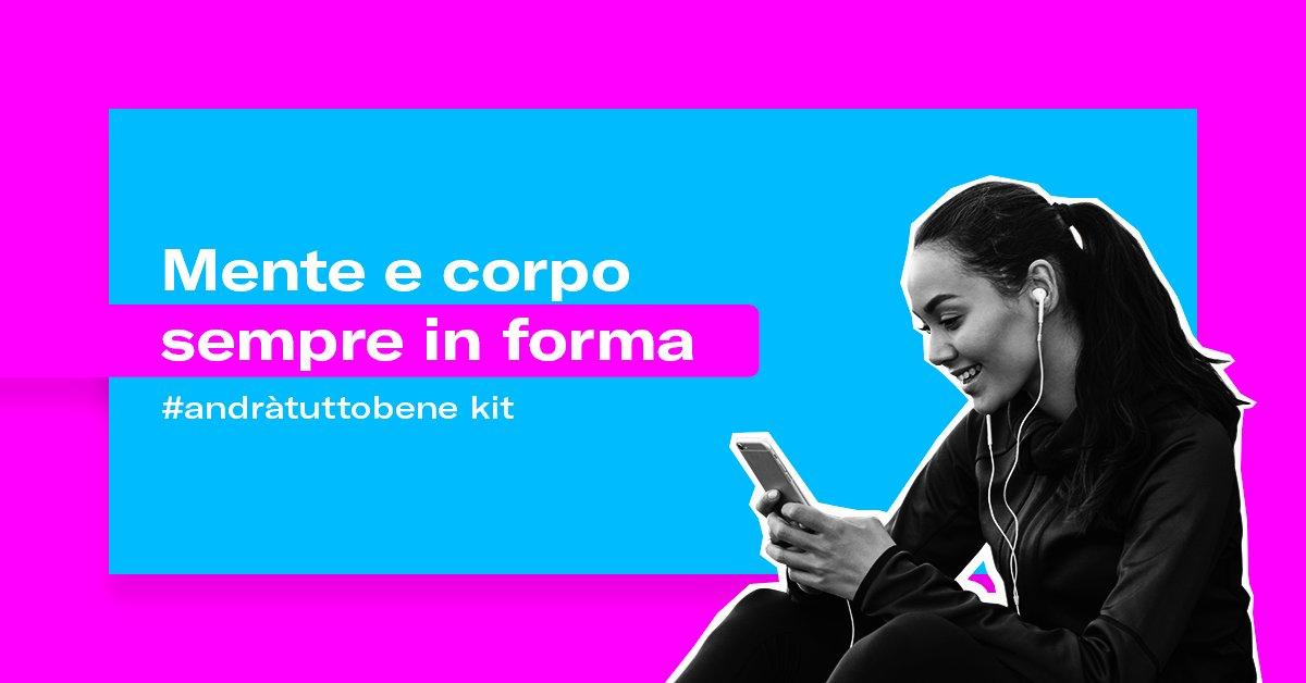Nel kit #andràtuttobene di @startup_italia, alcune delle iniziative digitali per mantenere in forma corpo e mente rimanendo a casa: @lifegate, @FitnessBlender, dirette streaming di #smartgirls di tutte le età e molto altro. Scoprile tutte: https://bit.ly/3b1iauk #iorestoacasapic.twitter.com/V2QOA9OsQY