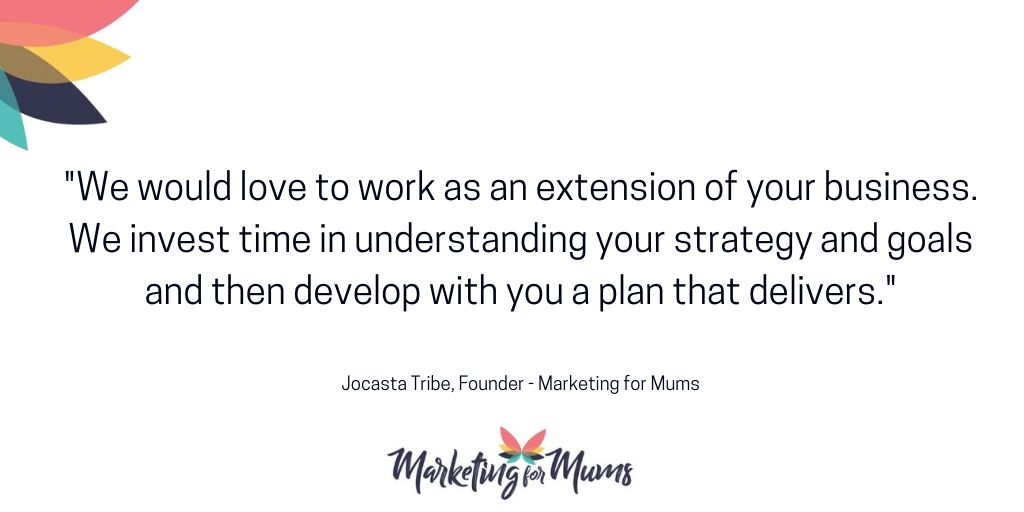Marketing for Mums is dedicated to providing marketing services so you can focus on what you do best, enjoy the most & spend time with the people you love.  Why not give us a shout - we'd love to chat! #MarketingforMums #MumsinBiz pic.twitter.com/e7jO7DnKHJ