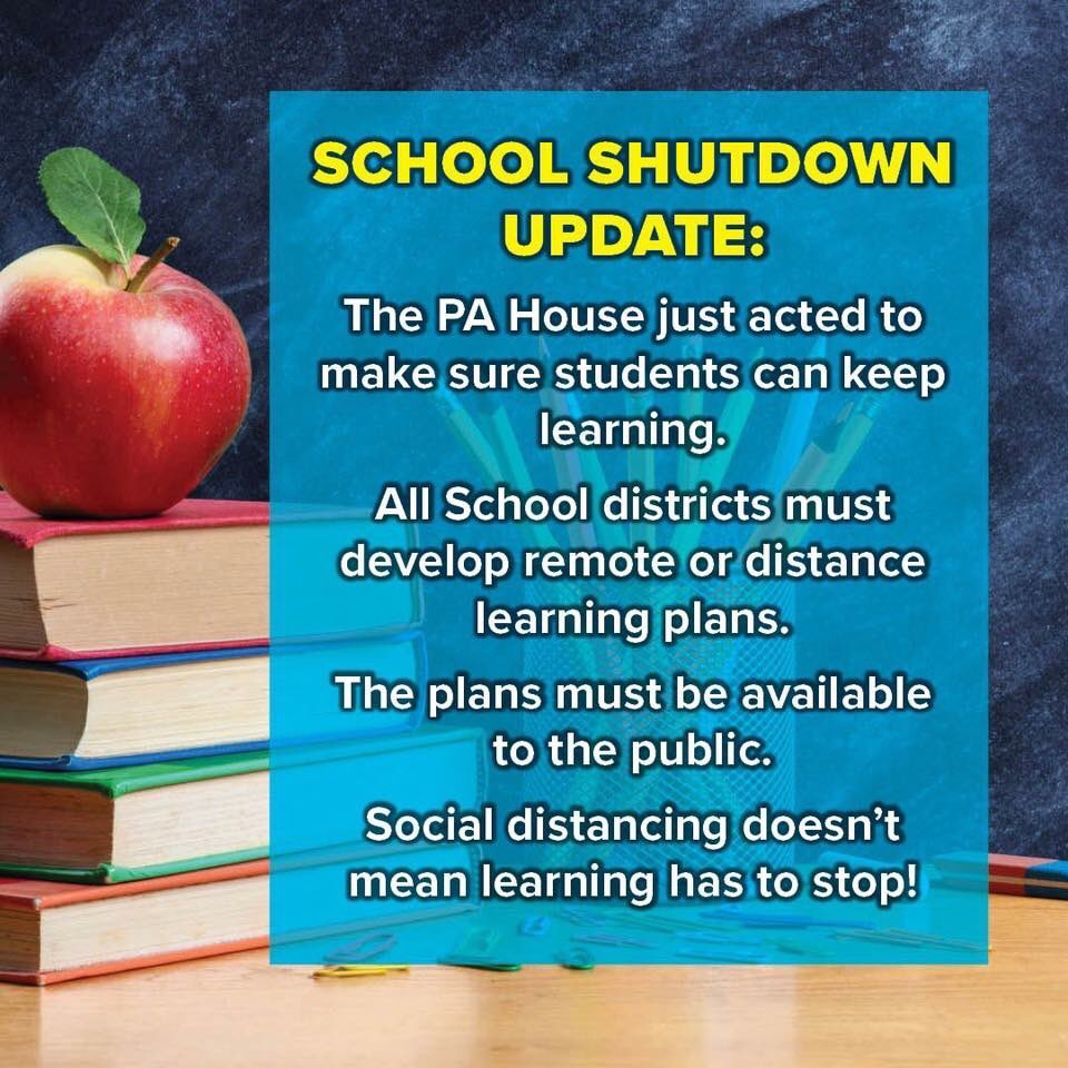 #PAHouse works to make sure our students and teachers can get back to business