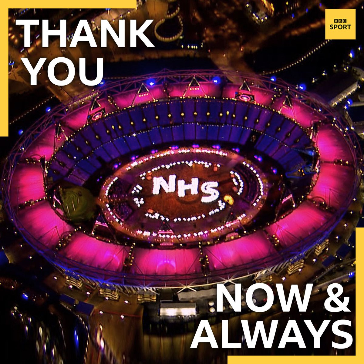 Thank you, NHS. Then, now and always ❤ #ClapForOurCarers #ClapForNHS