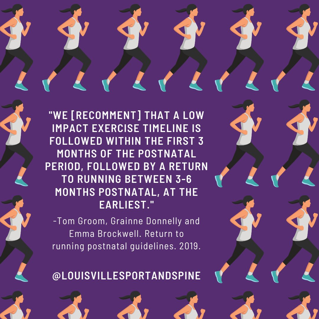 Low impact includes activities like walking, light body weight exercises, yoga, pilates... #fourthtrimester #postpartum #pelvichealth #womenshealth #strongwomen #momlife #fitmom #louisvillesportandspine #louisvillesportschiropractic #louisvillesportschiro #louisvillesportsdocpic.twitter.com/U4HJOTVqAx