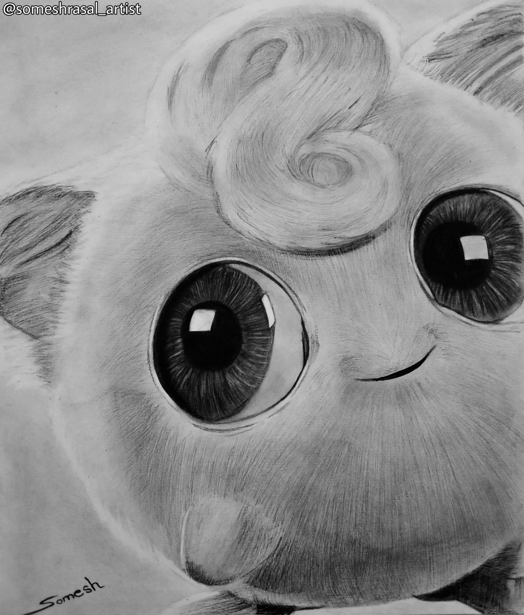Drawing of cute Pokemon... I don't know this Pokemon name... I like eyes of this Pokemon If you know this Pokemon name then comment... Draw by @someshrasal_artist(insta) . . #sketch #drawing #art #artline #pokemon #beautiful #pokemonsketch #pokemondrawing #cute #realisticpic.twitter.com/2YNSwCwtWn