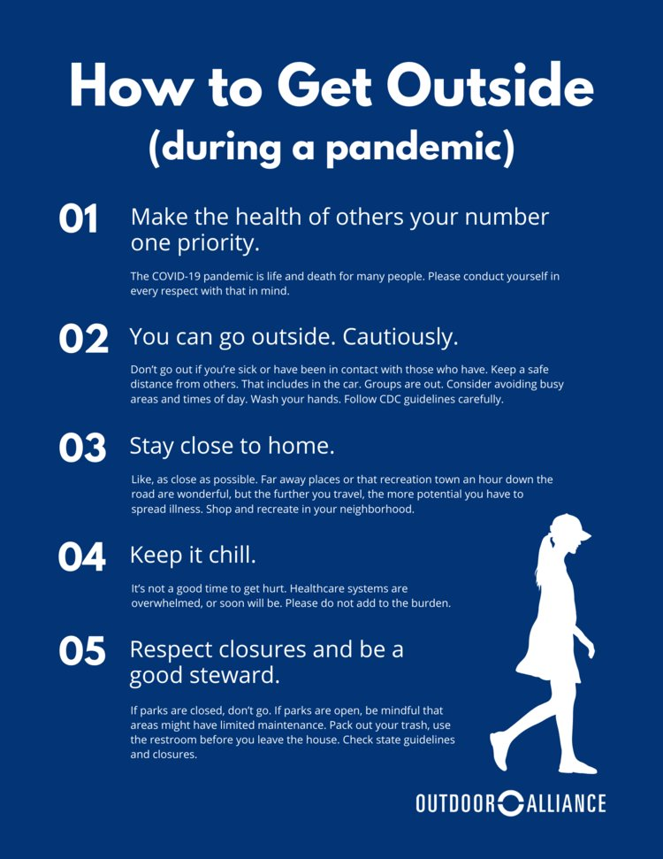 How to Go Outside (During a Pandemic) from @OutdoorAlliance outdooralliance.org/blog/2020/3/24…