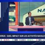 Image for the Tweet beginning: 💬 Hervé Guillou, Président du