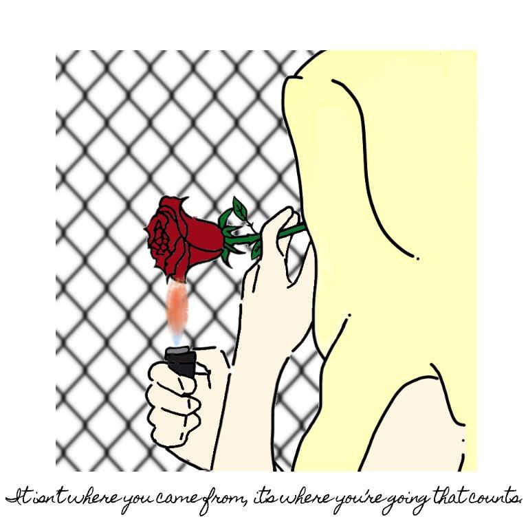 『 Rose 』 #Rose #Flower #fashion #music #art #ibispaint #street  #cool #girl #beauty  #likeforfollow #girls #絵 #アート #絵画 #ストリート #可愛い #お洒落 #ファッション #エモい #ブログ #トレンド #服 #絵師 #おしゃれ #薔薇 #煙草 #名言pic.twitter.com/ivM8Ex8LZX