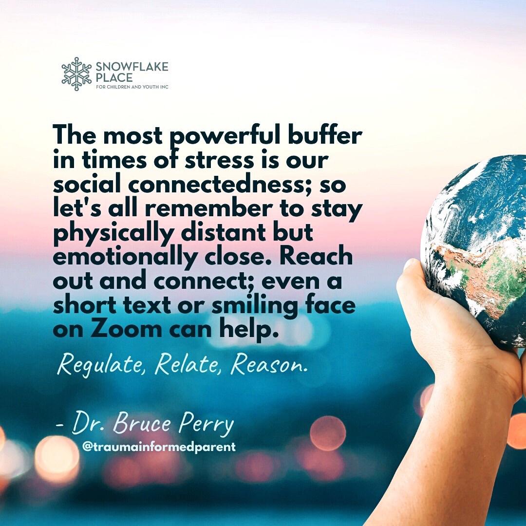 #Quote via @traumainformedparent #Emotionallyclose #SelfCare #TraumaInformed #BrucePerry #DrBrucePerry #TraumaAwareness #ChildAdvocate #Community #Connectedness #SocialIsolation #SocialDistancingpic.twitter.com/wqjPgx9H1q