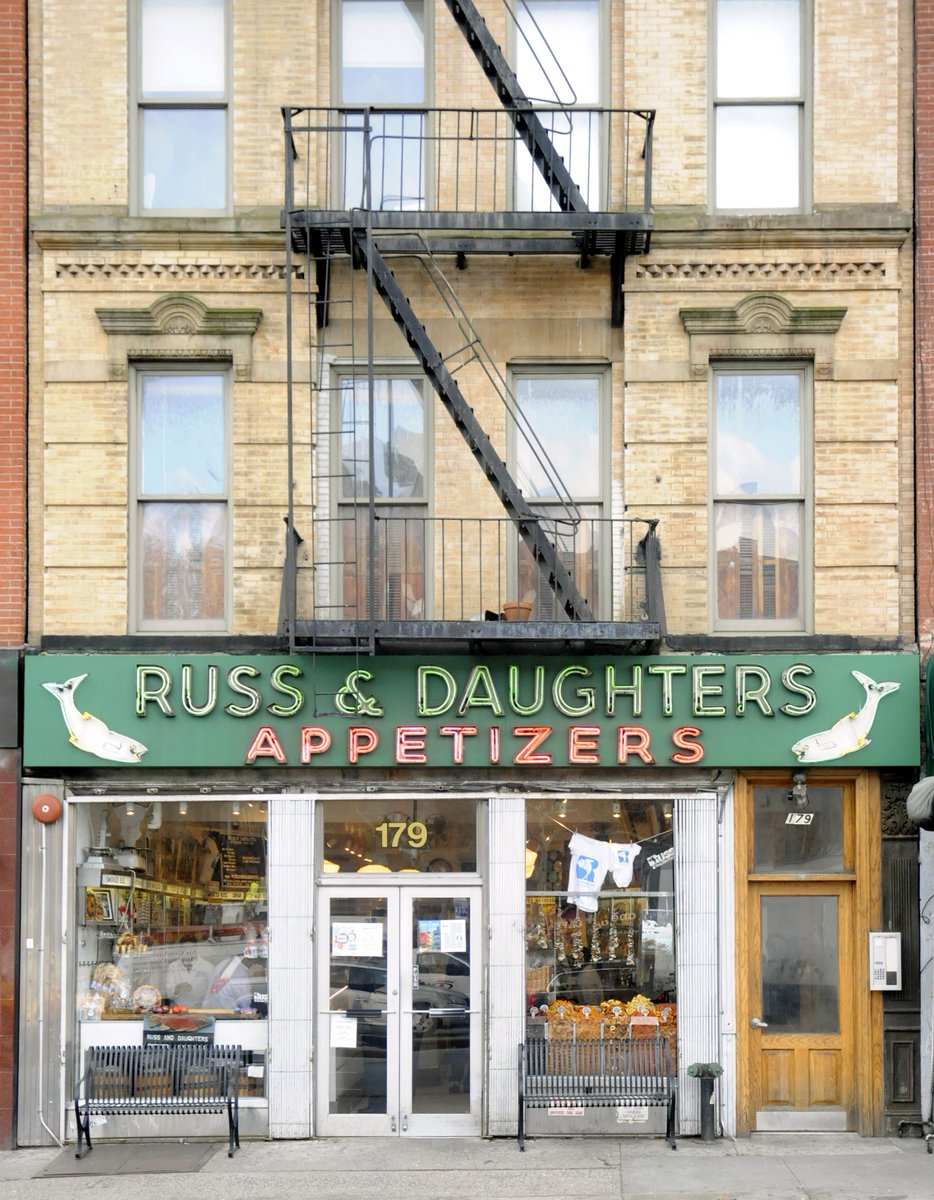 NY shop Russ & Daughters survived Spanish flu, but coronavirus is 'uncharted waters' http://dlvr.it/RSccDQ #Business #Retail_industry #New_York_City #Restaurants http://bit.ly/2StKgrZpic.twitter.com/QIiLuoYxFC