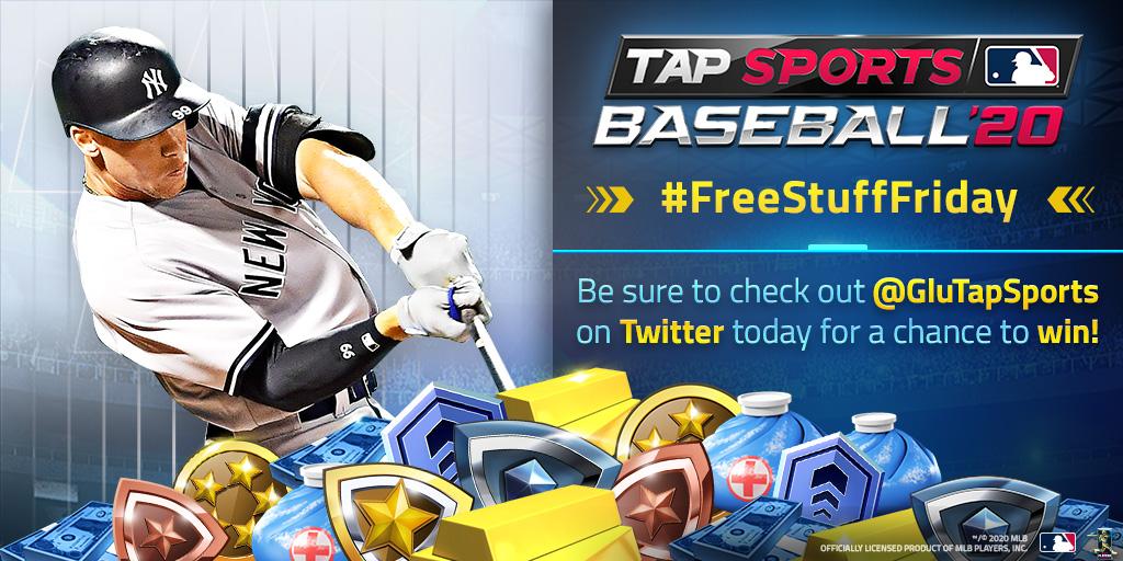 @GluTapSports's photo on #freestufffriday