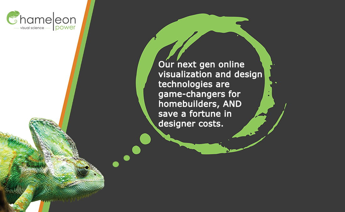 Our next gen online visualization and design technologies are game-changers for homebuilders, AND save a fortune in designer costs.   #ChameleonPower #homebuilder #hombebuilding #builder #visualscience #virtualbusiness #virtualreality #VR #visualizer https://t.co/TWNVxW1ipR
