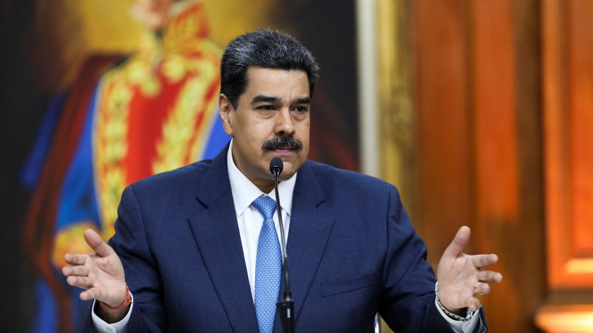 US indicts Venezuela's Maduro for 'narco-terrorism', offer $15 million for arrest