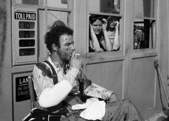 Happy birthday, James Caan! Here he is having a smoke between takes on the set of The Godfather.
