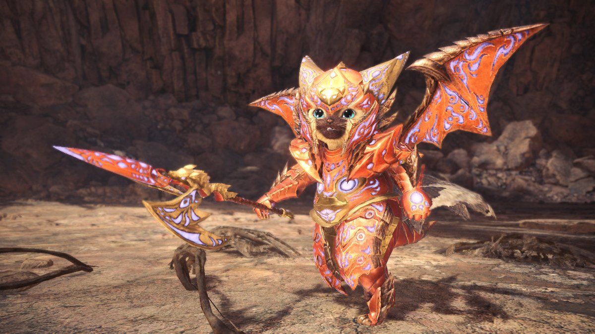 Monster Hunter On Twitter Safi Jiiva Palico Armor That