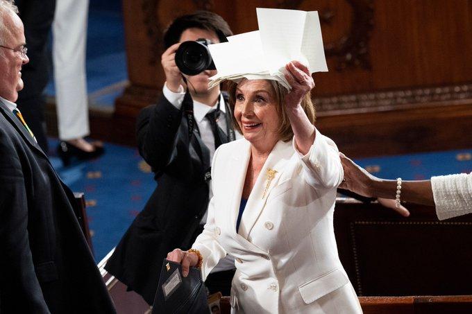 Happy birthday to House Speaker Nancy Pelosi.