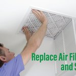 Start your spring cleaning by changing your air filter. Clean filters cut HVAC energy use by 5% to 15%. Check out these top HVAC #EnergyTips. https://t.co/AMpQgXa30b