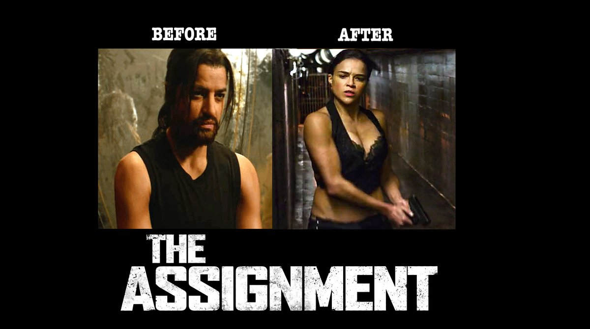Price Of Reason On Twitter True Story Today I Learned That There S A Movie Where A Dr Transforms A Male Hitman Into Michelle Rodriguez Without His Consent I Kid You Not This
