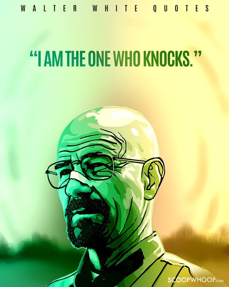Send us some of your favourite quotes from the show and we'll retweet the best ones.   #breakingbad pic.twitter.com/F24gyg8PGi
